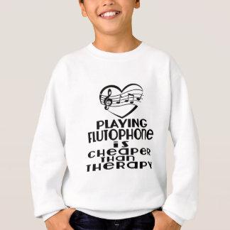 Jugar Flutophone es más barato que terapia Sudadera