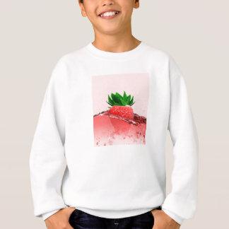 Jugo fresco de la fresa sudadera