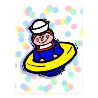 Juguete del marinero postal