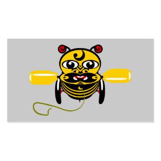 Juguete Kiwiana de la abeja de Hei Tiki Tarjetas De Visita