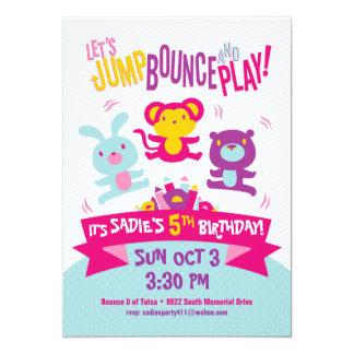 *Jump, despedida y Play* de la invitación del