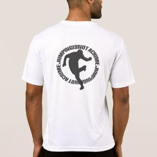 Jumpstyle enciende la camiseta (del blanco) (con