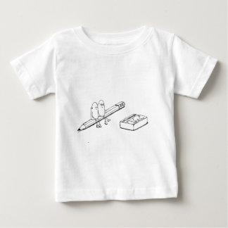 Junto para siempre camiseta de bebé