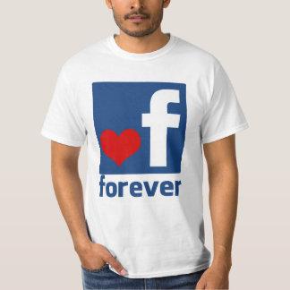 Junto para siempre siempre camiseta de los hombres