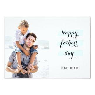 Juntos somos tarjeta del día de padre de la invitación 12,7 x 17,8 cm