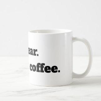 Juro.  Es solamente café - taza del coffe