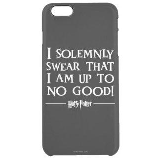 Juro solemnemente funda clear para iPhone 6 plus