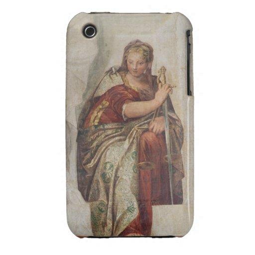 Justicia, de las paredes de la sacristía (fresco) iPhone 3 Case-Mate protector