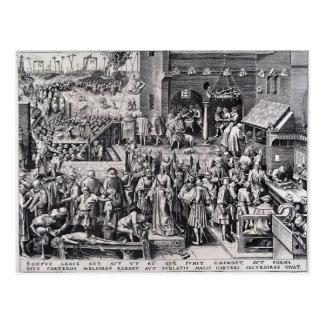 Justicia de Pieter Bruegel la anciano Tarjeta Postal