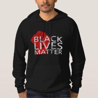Justicia social de las vidas de la protesta negra sudadera