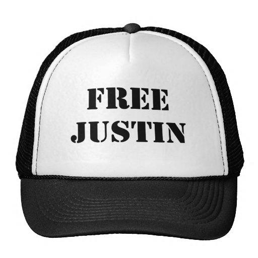 Justin libre gorras de camionero