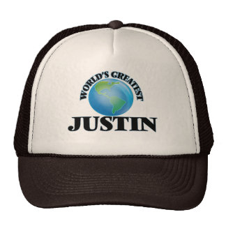 Justin más grande del mundo gorro de camionero