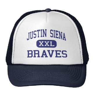Justin Siena - Braves - alto - Napa California Gorras De Camionero