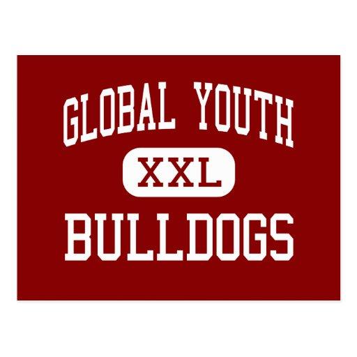 Juventud global - dogos - carta - antílope tarjetas postales