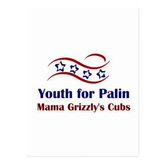 Juventud para los productos de Palin Postal