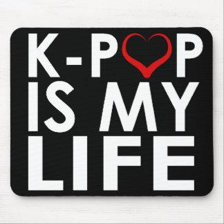 K-POP ES MI ♡ DE LA VIDA ALFOMBRILLA DE RATÓN