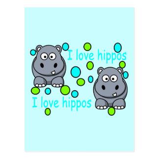 kaili-s-impresionante-hipopótamo-hola postal