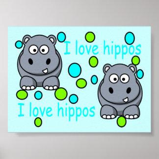 kaili-s-impresionante-hipopótamo-hola póster