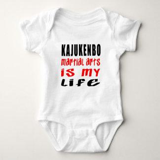 Kajukenbo es mi vida body para bebé