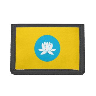 Kalmukia señala por medio de una bandera