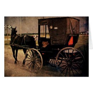 Kalona, cochecillo de Iowa Amish, cumpleaños Tarjeta De Felicitación