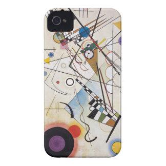 Kandinsky 1923/composition viii/pixdezines carcasa para iPhone 4 de Case-Mate