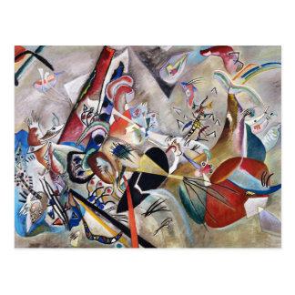Kandinsky en postal gris