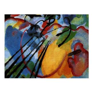 Kandinsky - improvisación 26, remando postal