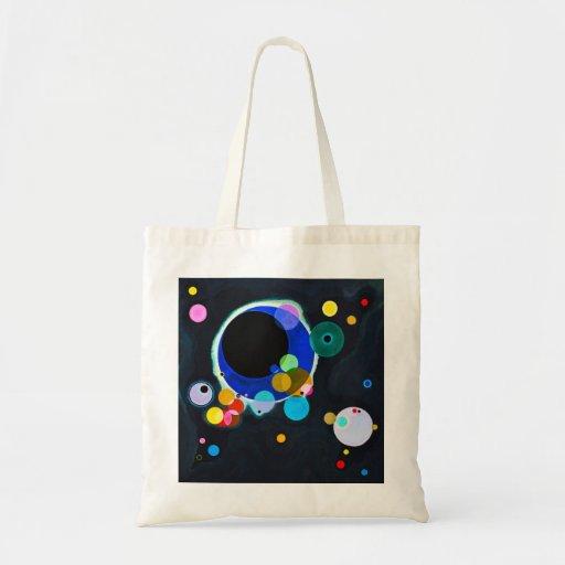 Kandinsky la bolsa de asas de varios círculos