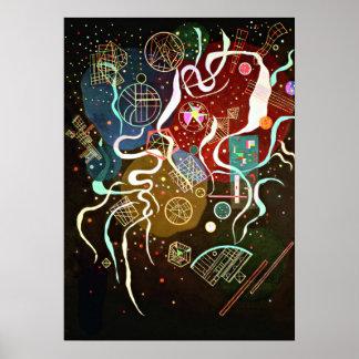 Kandinsky - movimiento I Póster