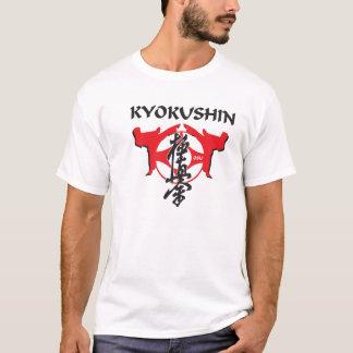 Kanku y kanji de Kyokushin Camiseta
