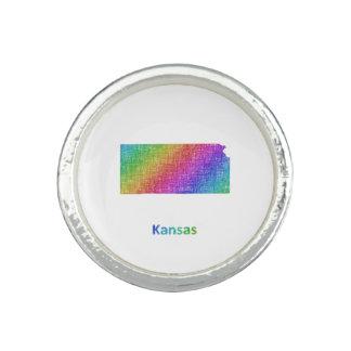 Kansas Anillos Con Foto