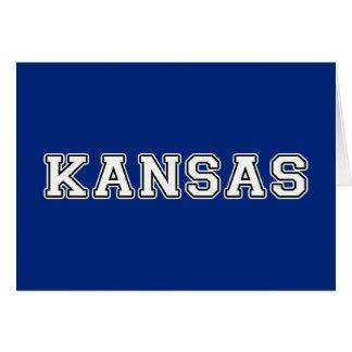 Kansas Tarjeta