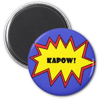 ¡Kapow! Imanes De Nevera