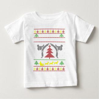 karate camiseta de bebé