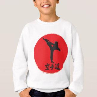 Karate cepillado sudadera