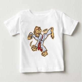 Karate-Mono Camiseta De Bebé
