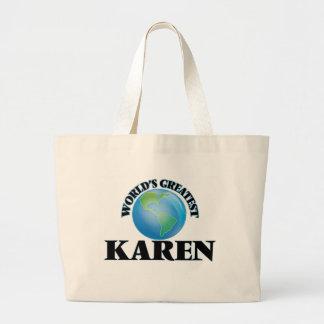 Karen más grande del mundo bolsas