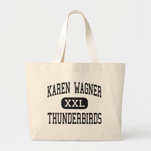 Karen Wagner - Thunderbirds - alto - San Antonio Bolsas