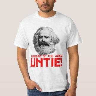 ¿Karl Marx? Camiseta del valor