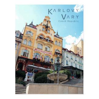 Karlovy varía, foto checa postal