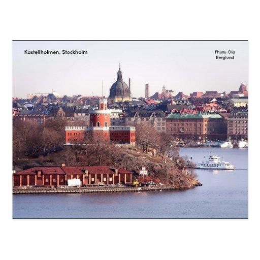 Kastellholmen, Estocolmo, foto O… Tarjetas Postales