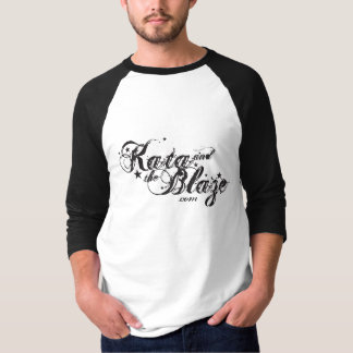 KATA y el resplandor - camiseta del béisbol de los