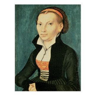 Katharina von Bora, futura esposa de Martin Postal