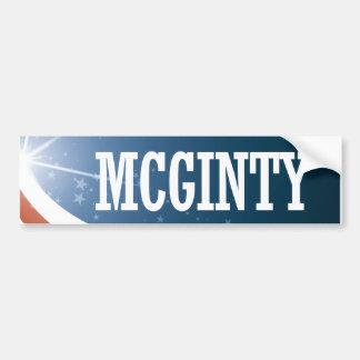 Kathleen McGinty 2016 Pegatina Para Coche