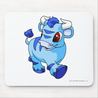 Kau azules alfombrilla de ratón