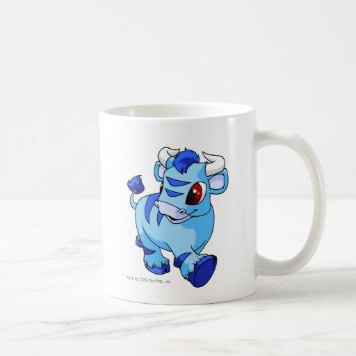 Kau azules taza de café