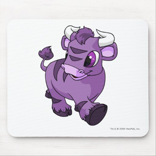 Kau púrpuras alfombrilla de raton