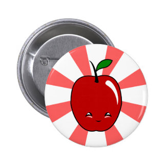 Kawaii Apple (muchacho) Pins