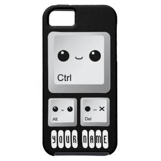 Kawaii Ctrl Alt Del Keyboard - personalizado Funda Para iPhone SE/5/5s
